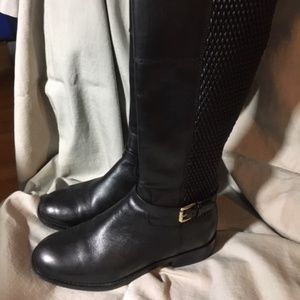 Cole Haan Black riding boots New Size 6 1/2